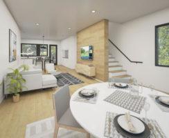 First Floor towards Kitchen